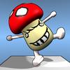 버섯돌이 균형감각