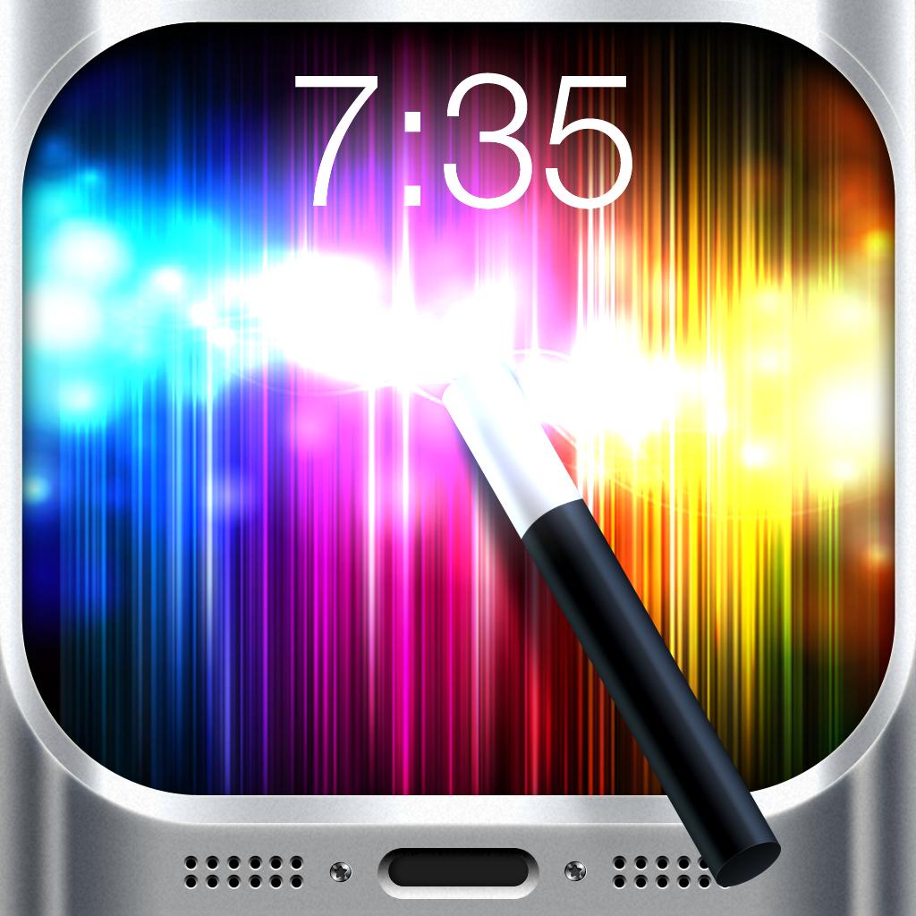 マジックスクリーン : Magic Screen - Customize your Lock & Home Screen Wallpaper for iPhone & iPod Touch (iOS7)